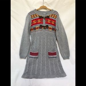 Hanna Andersson size 110 NWT sweater dress